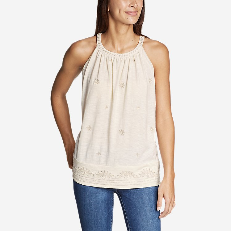 Women's Mountain Meadow Embroidered Cami large version