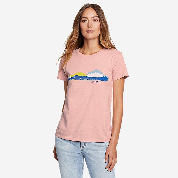 Women's Graphic T-Shirt - Mountain View large version