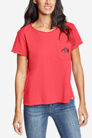 Women's Gypsum Short-Sleeve Pocket T-Shirt - Graphic
