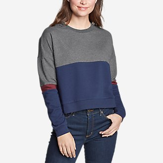 Thumbnail View 1 - Women's Colorblocked Sweatshirt