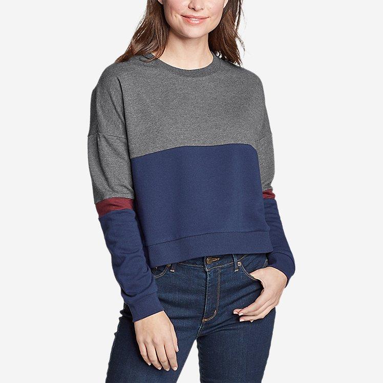 Women's Colorblocked Sweatshirt  large version