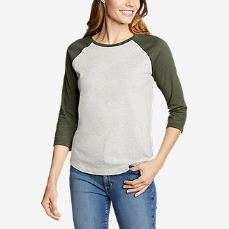 Thumbnail View 1 - Women's Legend Wash 3/4-Sleeve T-Shirt