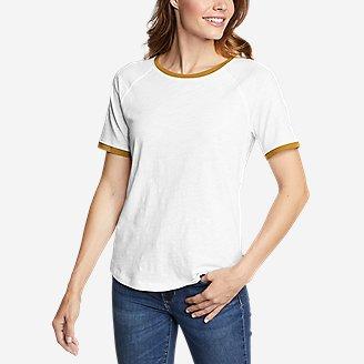Thumbnail View 1 - Women's Legend Wash Short-Sleeve Color-Block T-Shirt