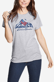 Women's Graphic T-Shirt - USA Mountain