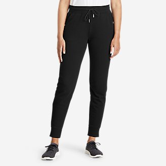 Thumbnail View 1 - Women's Cozy Camp Fleece Jogger Pants