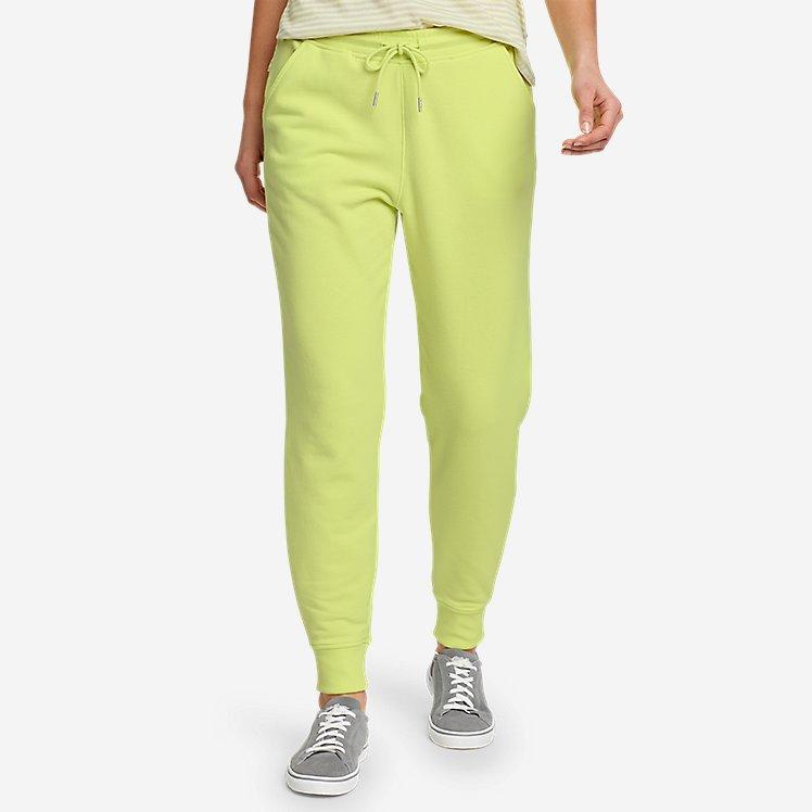 Women's Cozy Camp Fleece Jogger Pants large version
