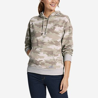 Thumbnail View 1 - Women's Cozy Camp Kangaroo Pocket Hoodie