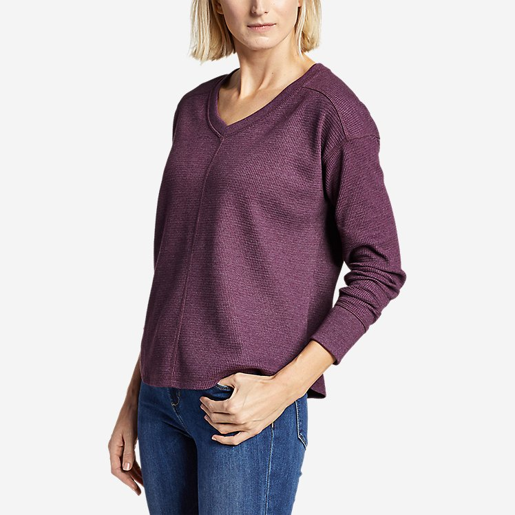Women's Myriad Thermal V-Neck large version
