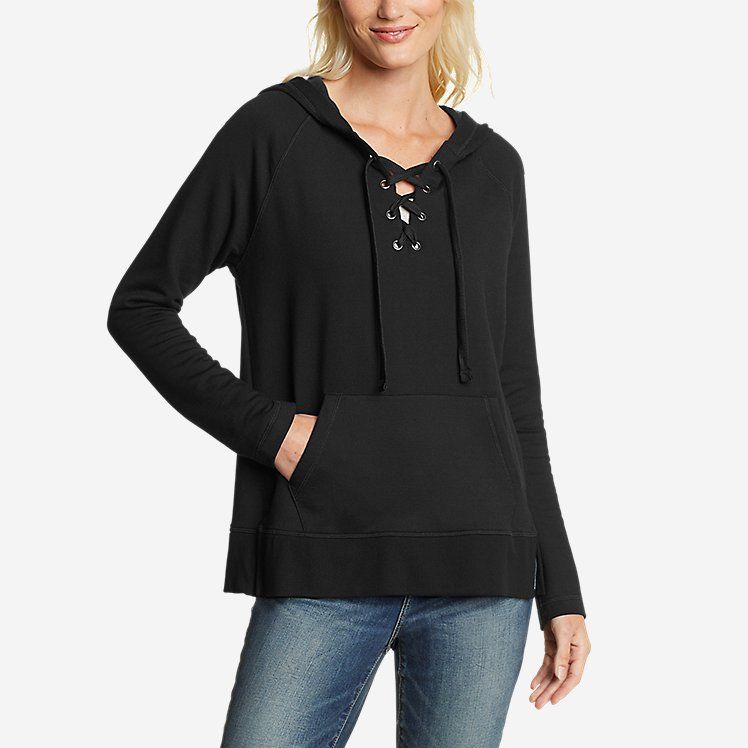 Women's Everyday Enliven Pullover Lace-Up Hoodie large version