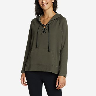Thumbnail View 1 - Women's Everyday Enliven Pullover Lace-Up Hoodie
