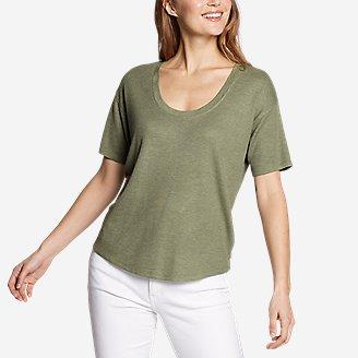 Thumbnail View 1 - Women's Softgoods Thermal Short-Sleeve T-Shirt