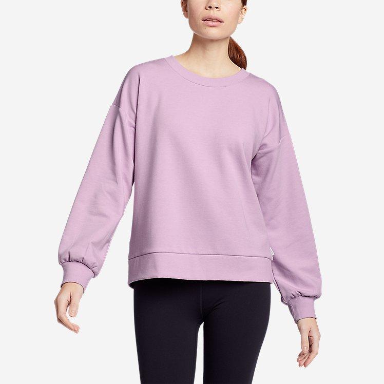 Women's Cozy Camp Puff-Sleeve Sweatshirt large version
