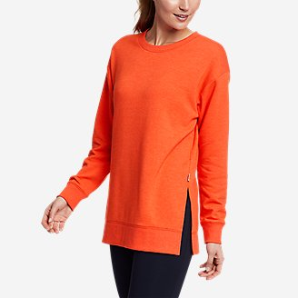 Thumbnail View 1 - Women's Motion Cozy Camp Long-Sleeve Tunic