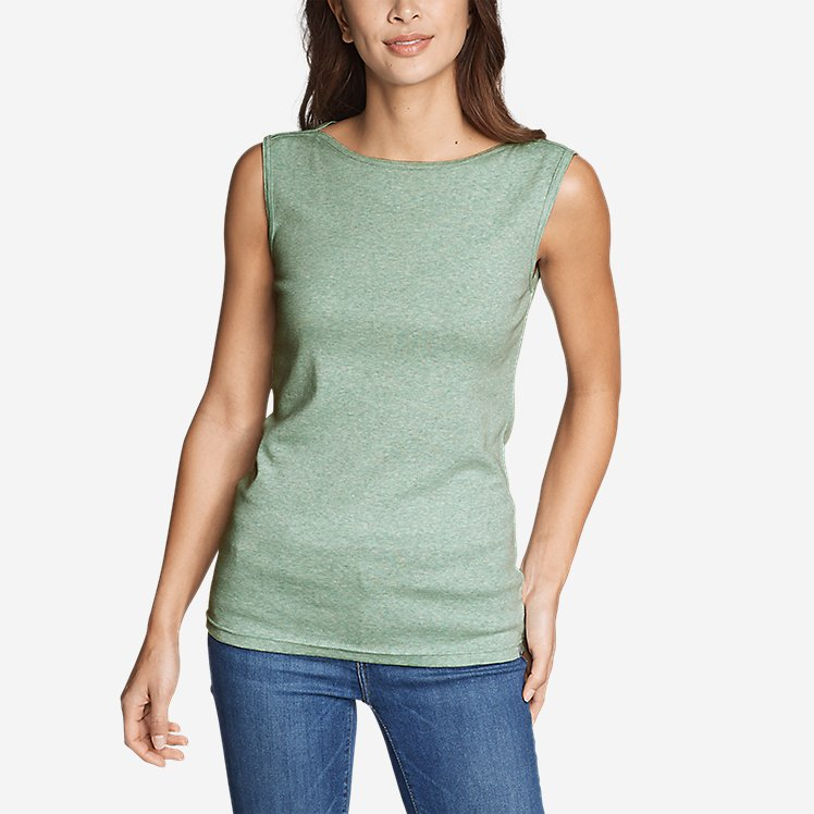 Women's Favorite Sleeveless Bateau Top large version