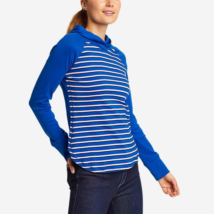 Women's Favorite Shirttail Hem Long-Sleeve Hoodie large version