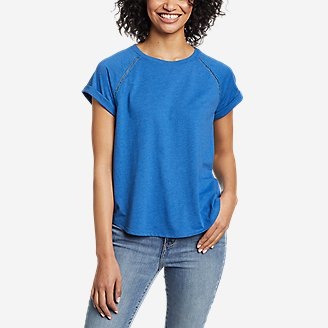 Thumbnail View 1 - Women's Myriad Roll-Sleeve T-Shirt