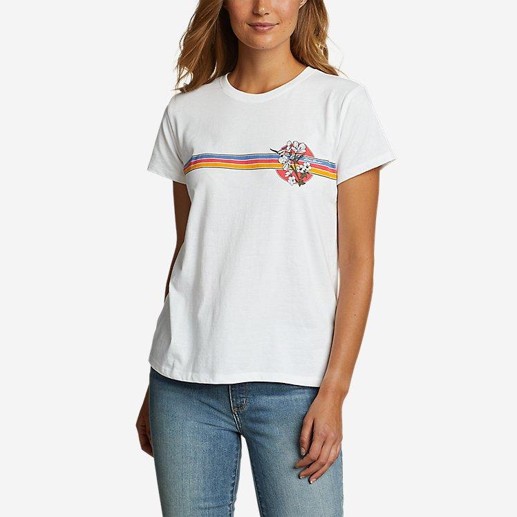 Women's Graphic T-Shirt - Chest Stripe large version