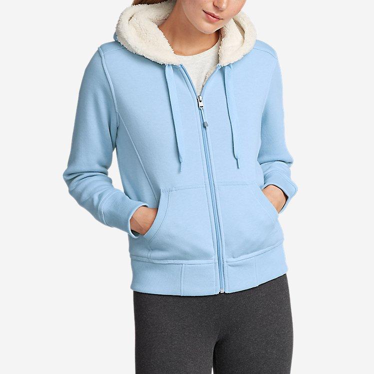 Women's Cabin Fleece Sherpa Hoodie large version