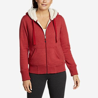 Thumbnail View 1 - Women's Cabin Fleece Sherpa Hoodie