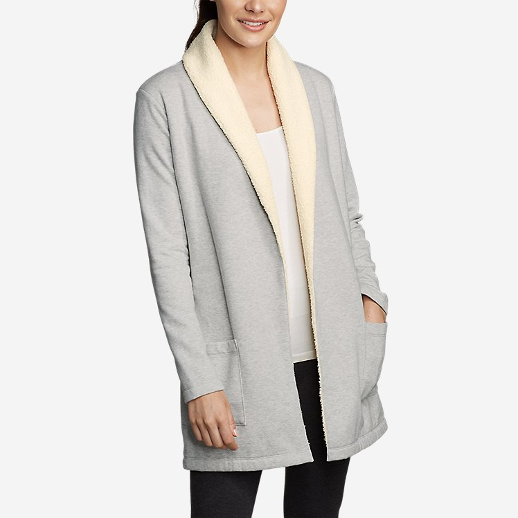 Women's Snow Lodge Sherpa-Lined Wrap large version