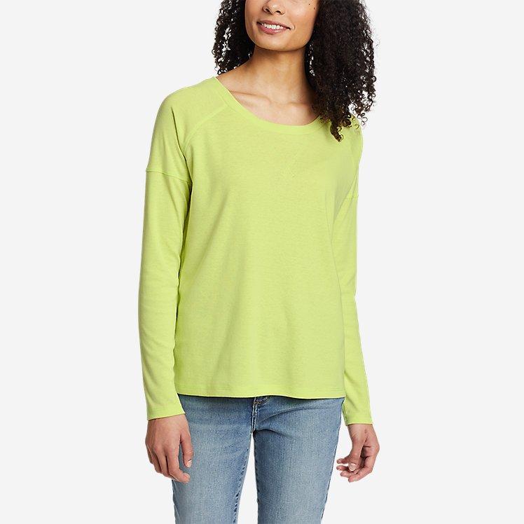 Women's Favorite Long-Sleeve Raglan Crew T-Shirt large version