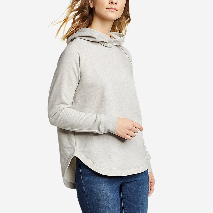 Women's Cozy Camp Shirttail Hem Hoodie large version
