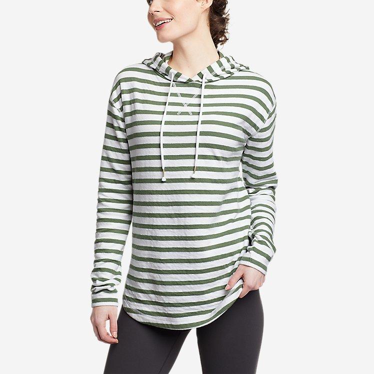 Women's Safari Duofold Pullover -Stripe large version