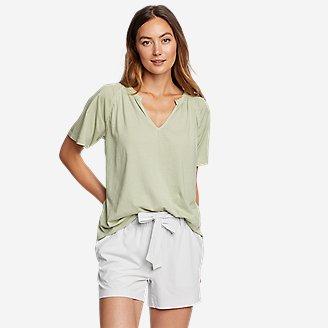 Thumbnail View 1 - Women's Ophelia Short-Sleeve Lace T-Shirt