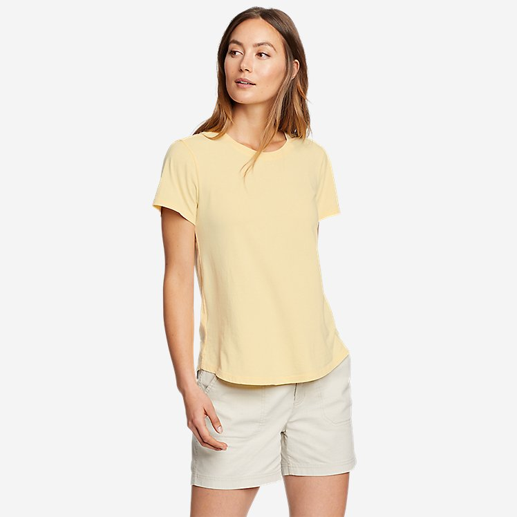 Women's Mineral Wash Novelty T-Shirt large version