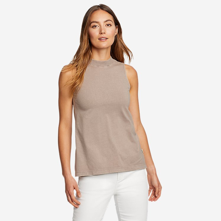 Women's Mineral Wash Novelty Tank Top large version