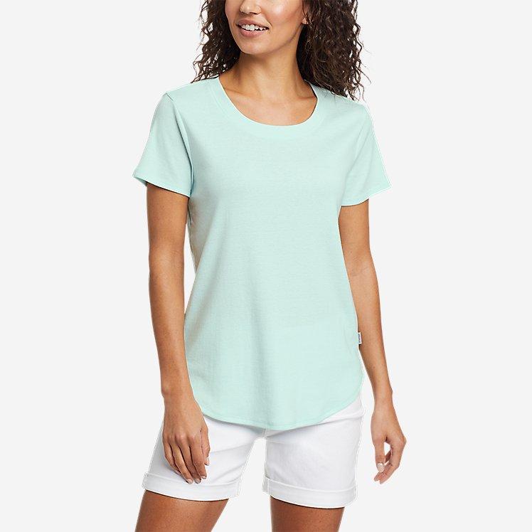 Women's Favorite Short-Sleeve Shirttail T-Shirt large version