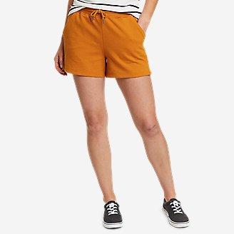 Thumbnail View 1 - Women's Cozy Camp Fleece Shorts