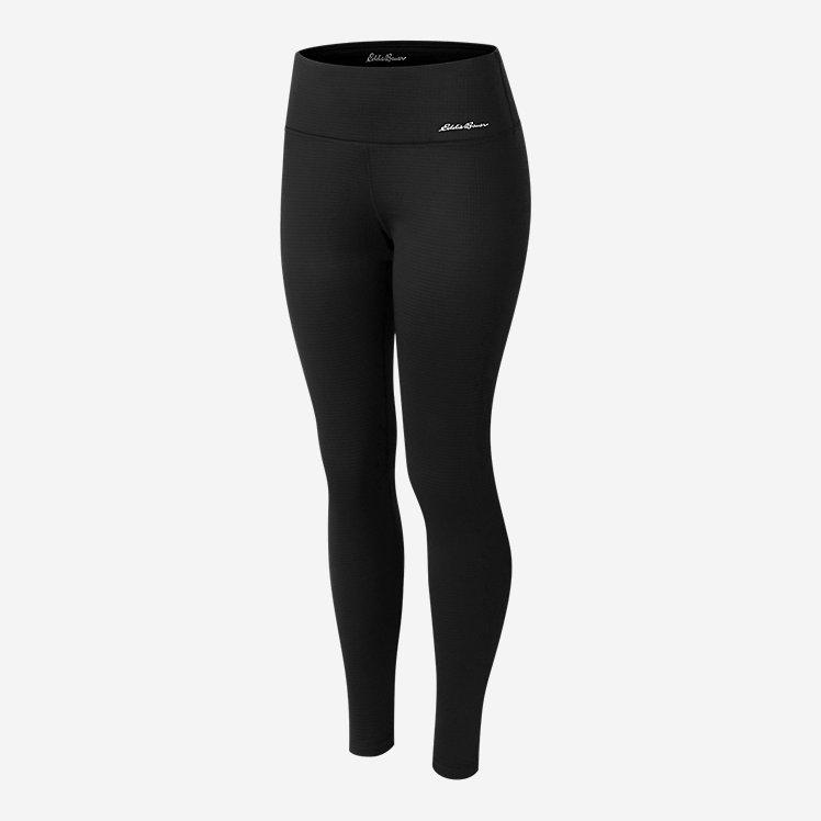 Women's Mini Grid Fleece Leggings large version