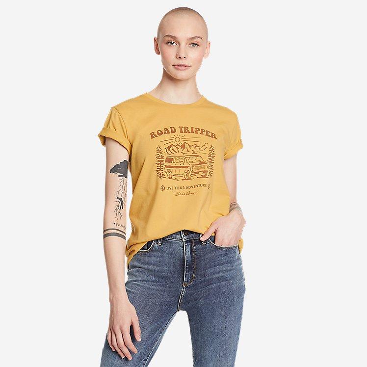 Women's Graphic T-Shirt - Road Tripper large version