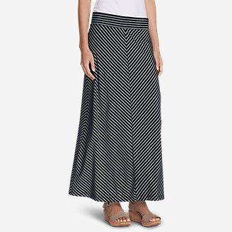 Thumbnail View 1 - Women's Kona Maxi Skirt - Stripe