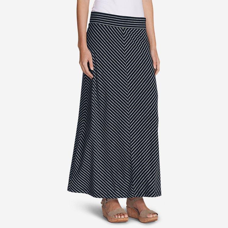 Women's Kona Maxi Skirt - Stripe large version