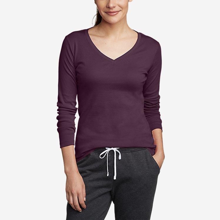 Women's Favorite Long-Sleeve V-Neck T-Shirt large version