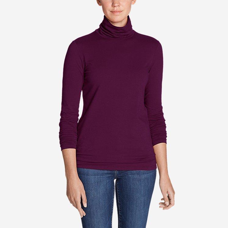 Women's Long-Sleeve Turtleneck large version