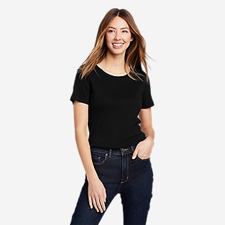 Thumbnail View 1 - Women's Favorite Short-Sleeve Crewneck T-Shirt