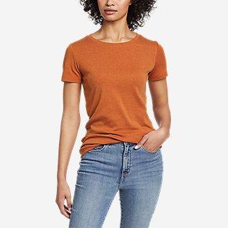 Thumbnail View 1 - Women's Favorite Short-Sleeve Crewneck T-Shirt