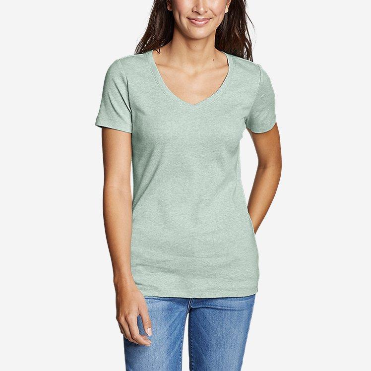 5c6239f67dda Women's Favorite Short-Sleeve V-Neck T-Shirt large version