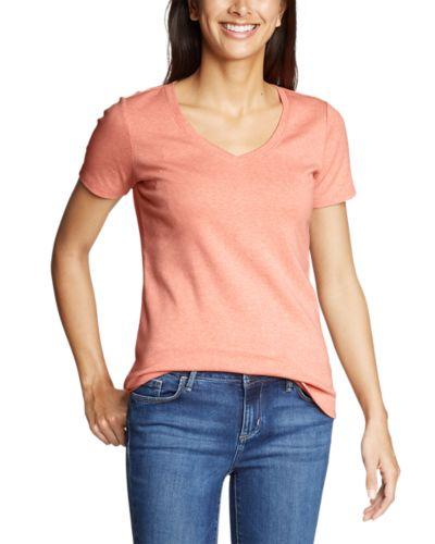 Women's Favorite Short-sleeve V-Neck T-Shirt (Multiple Color)