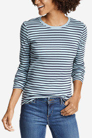 Women's Favorite Long-Sleeve Crew T-Shirt - Stripe