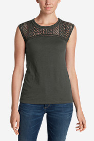 Women's Crochet T-Shirt