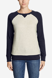 Women's Legend Wash Quilted Sweatshirt
