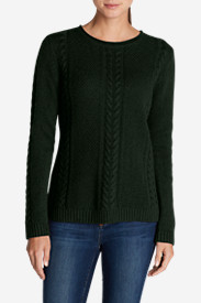 Women's Cable Fable Crew Sweater