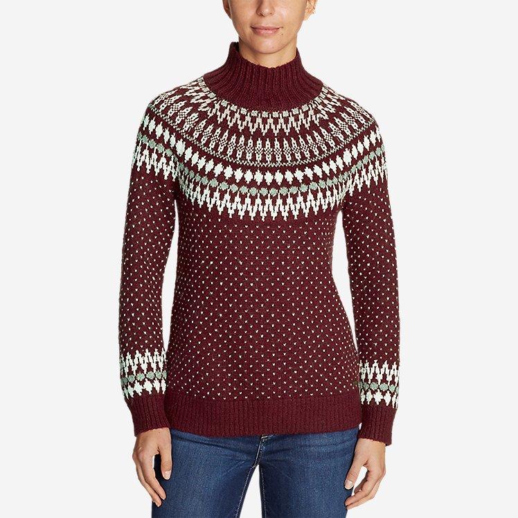 Women's Arctic Fair Isle Sweater large version