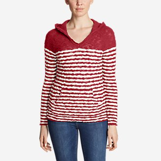 Thumbnail View 1 - Women's Westbridge Hoodie Sweater - Stripe