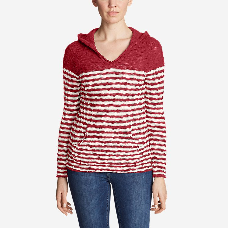 Women's Westbridge Hoodie Sweater - Stripe large version