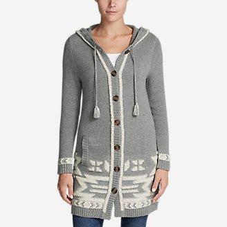 Thumbnail View 1 - Women's Mount Houghton Sweater Coat
